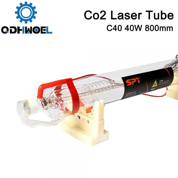 SPT C40 800MM 40W Co2 Laser Tube for CO2 Laser Engraving Cutting Machine
