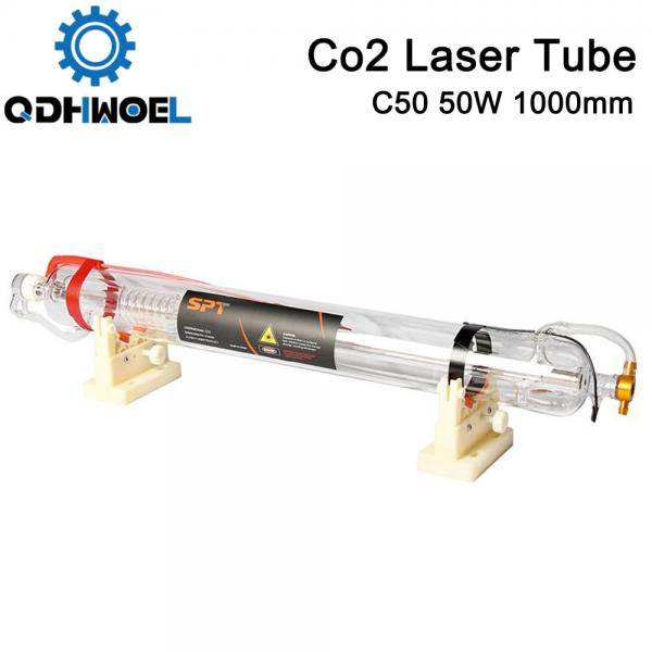 SPT C50 1000MM 50W Co2 Laser Tube for CO2 Laser Engraving Cutting Machine