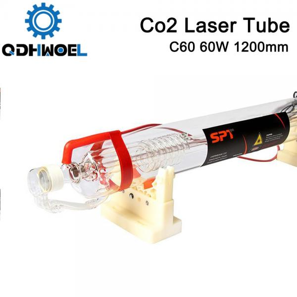 SPT C60 1200MM 60W Co2 Laser Tube for CO2 Laser Engraving Cutting Machine