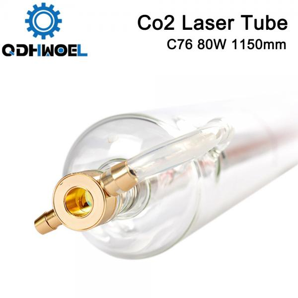 SPT C80 1150MM 80W Co2 Laser Tube for CO2 Laser Engraving Cutting Machine
