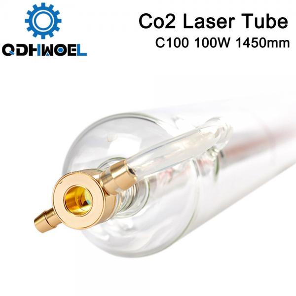 QDHWOEL SPT C100 1450MM 100W Co2 Laser Tube for CO2 Laser Engraving Cutting Machine