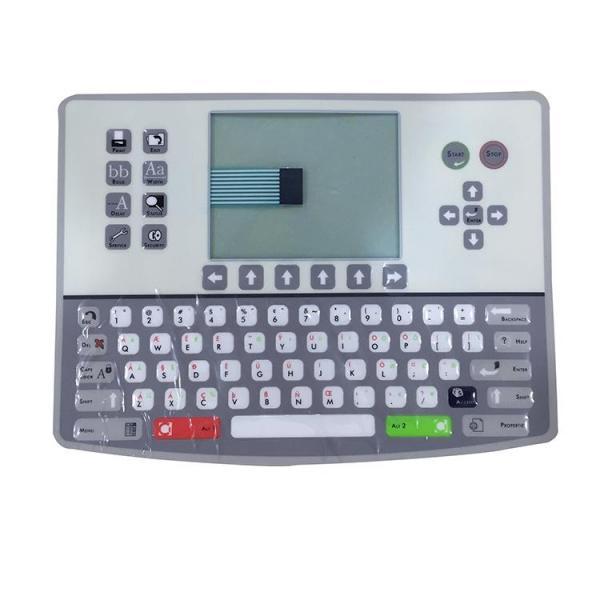 Hot sell CC004-1010-001 C type Keyboard membrane alternative inkjet printer spare parts for Citronix CIJ printer