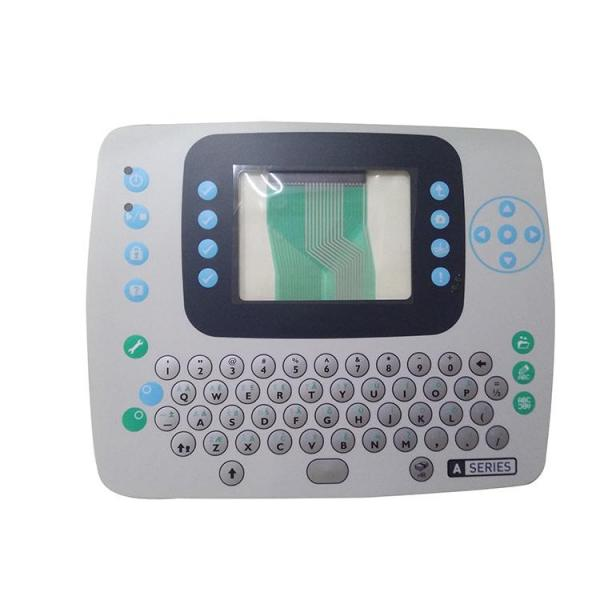 Alternative Domino Spare Parts PP2477 320I Keyboard Mask For Domino Cij Inkjet Printer