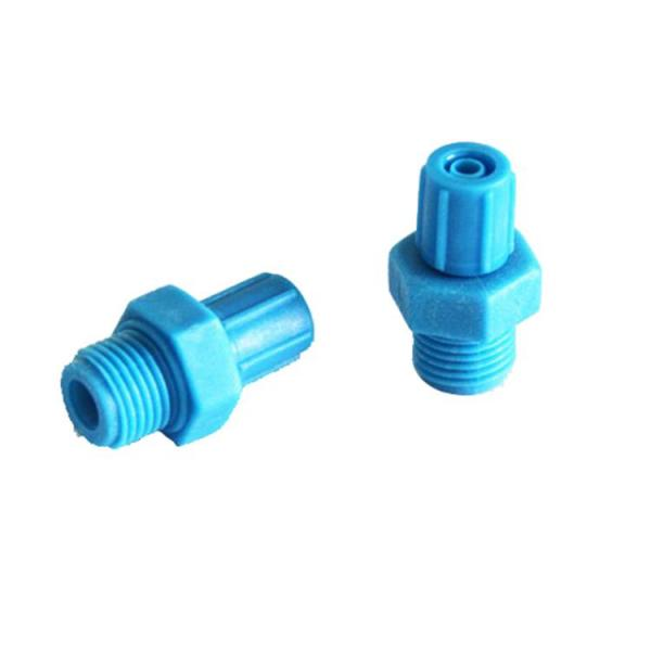 Hot sell 4MM *2.5MM barrel connector Domino TCPO 1/863EP tee coupling connector DD14175 for Domino A100 A200 A300 Printer