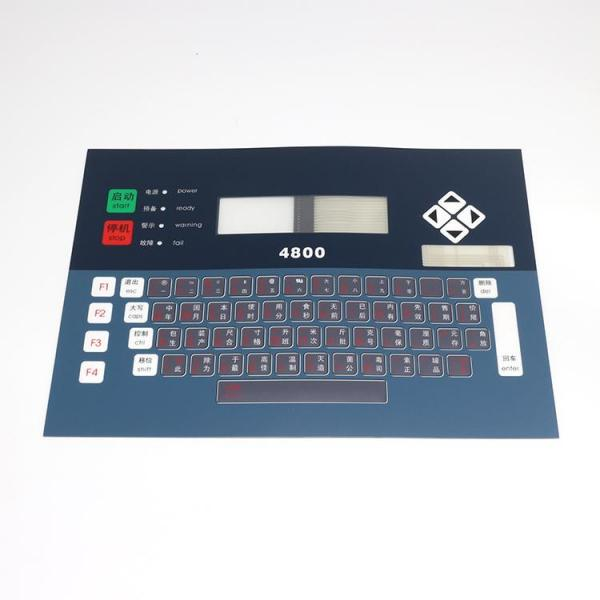 High quality LL-PL1459 L type 4800 keyboard membrance aternative inkjet printer spare parts for linx
