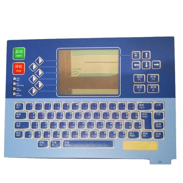 High quality LL-PL1460 L type 6800 keyboard membrance aternative inkjet printer spare parts for linx