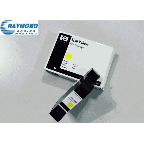 HP yellow color fast dry ink cartridge f...