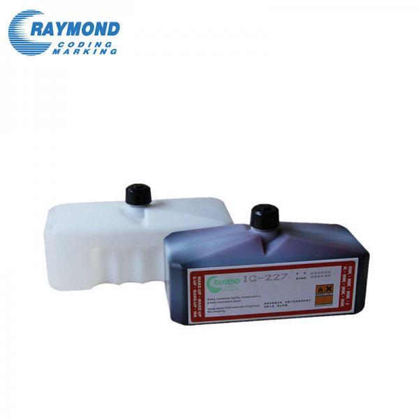 Domino ink BK0101C 600ML for cij industrial inkjet printer