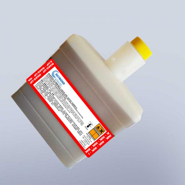 750ml  0.5L CIJ small character inkjet printer solvent 302-1006-005 for Citronix  continuous inkjet marking printer