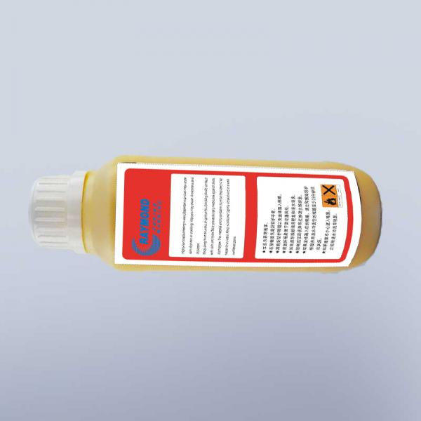 500ml  0.5L CIJ small character inkjet printer yellow ink for KGK continuous inkjet marking printer