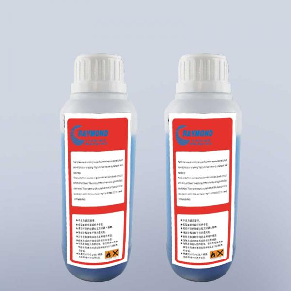 500ml  0.5L CIJ small character inkjet printer solvent CN55-Y for KGK continuous inkjet marking printer