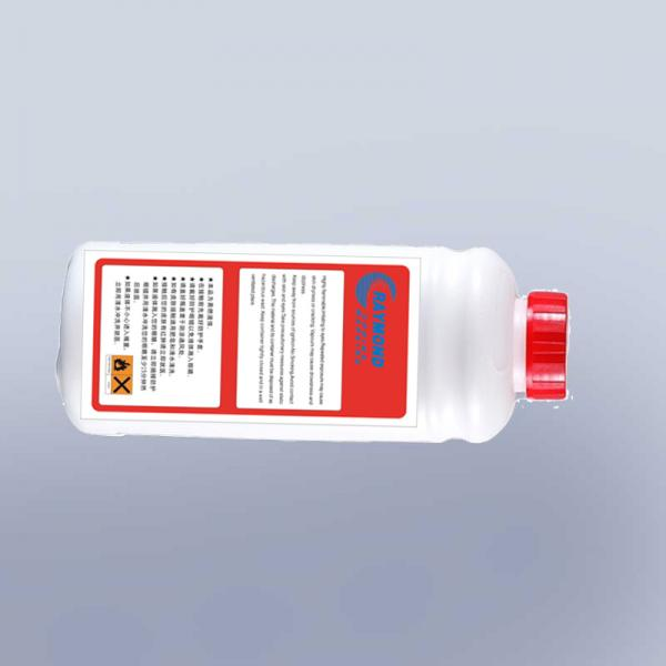 Cheap replaceable 1000ml big character dod white ink on steel industry for dod inkjet printer