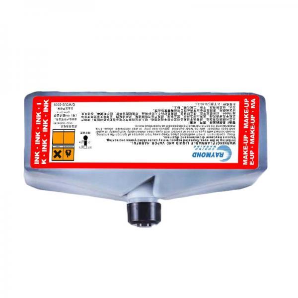 Black Ultra-fast dry ink low odor ink IC-802BK ink for domino Inkjet Coding Printer