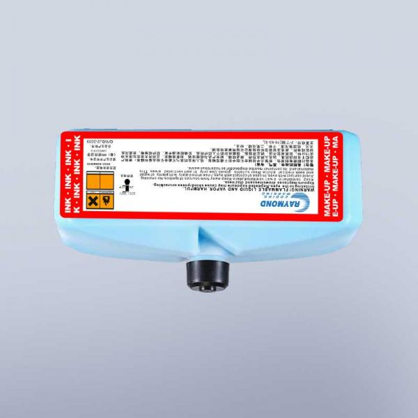 Blue fast drying ink high adhesion anti-migration ink IC-280BK ink for domino Inkjet Coding Printer