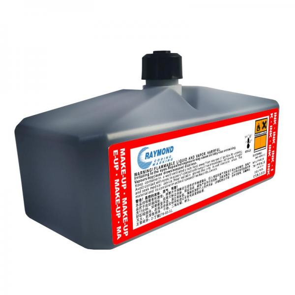 Coding machine ink  IC-129BK low odor on plastic for Domino