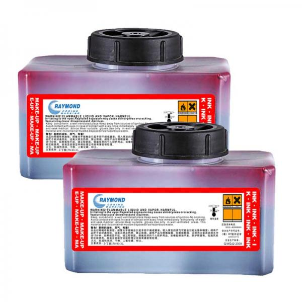 Domino IC-214BK 0.825L invisibility ink compatible with inkjet printer inkjet part