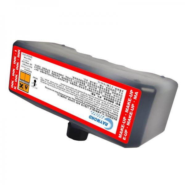 Fast dry ink IC-845BK-V2 low odor coding machine ink  for Domino
