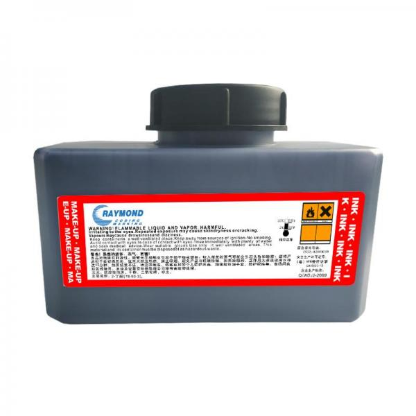 Fast dry ink IR-280BK high adhesion black ink for Domino