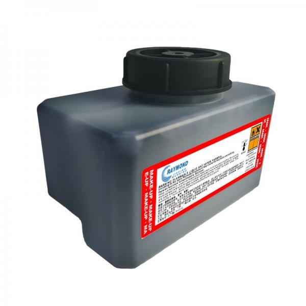 Fast drying ink IR-236BKA printing ink on organic glass for Domino