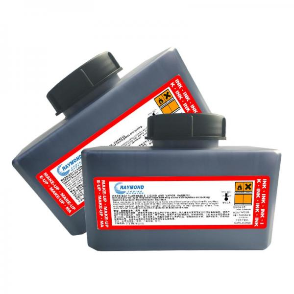 Fast drying ink IR-899BK low odor cold storage tolerance for Domino inkjet printer