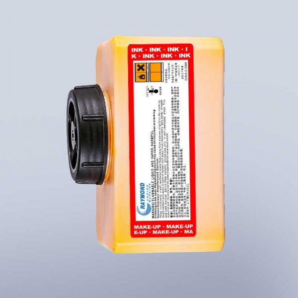 High adhesion yellow ink IR-299yl for domino inkjet coding machine