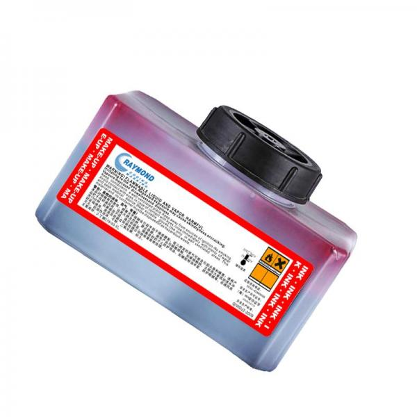 Red quick-drying ink halogen-free no hea...
