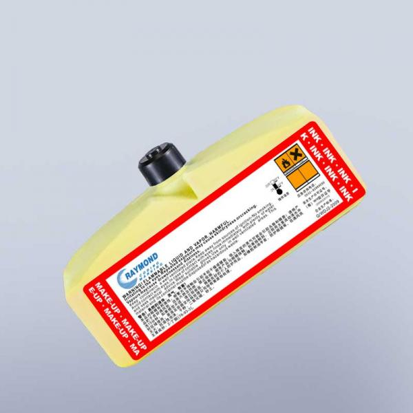 Yellow Ink IC-261YL For Domino Inkjet
