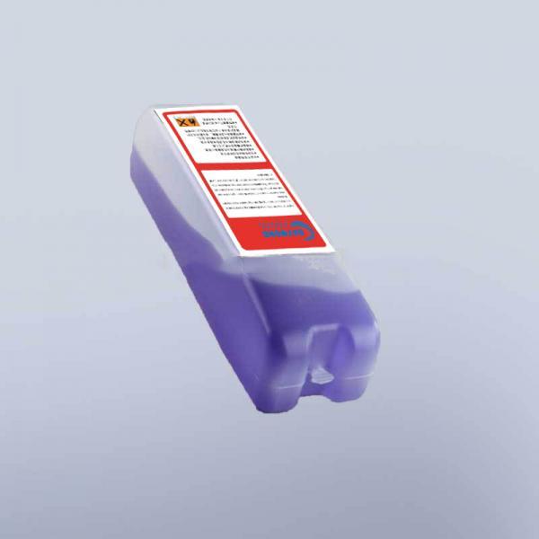 800ml printer ink inkjet purple printing ink A188 with RFID chips for markem imaje9028 printer