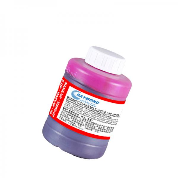 500ml high compatible msds solvent based red ink printing for food industry