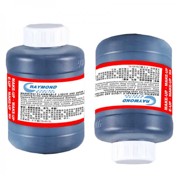 eco friendly food grade black printing ink 500ml for Linx cij coding machine