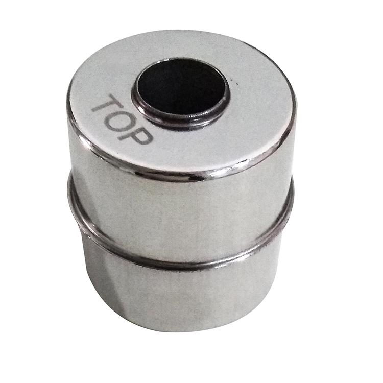 High quality H451958 H type solvent ink level float ball(stainless steel) spare parts for CIJ inkjet printer