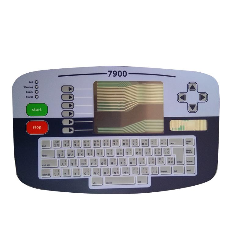 High-quality LB-PL1466 L type 7900 Alternative inkjet printer spare parts English keyboard for linx