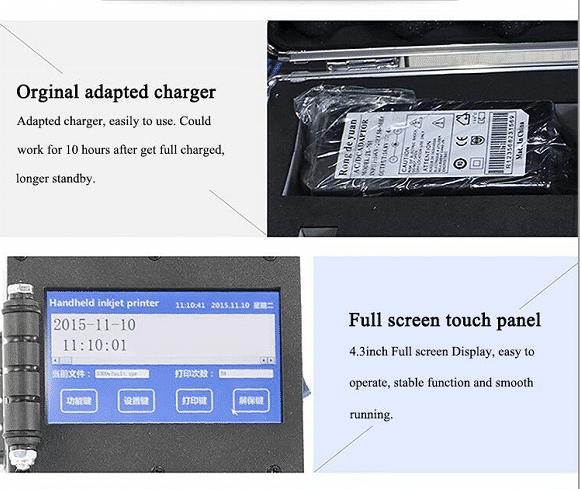 TL150 handle intelligent ink jet printer